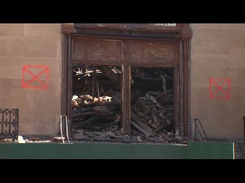 Teenager in custody following synagogue fire