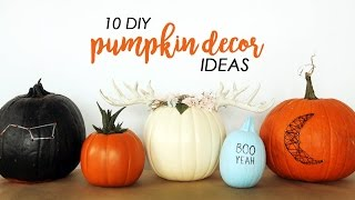10 DIY PUMPKIN DECOR IDEAS | THE SORRY GIRLS