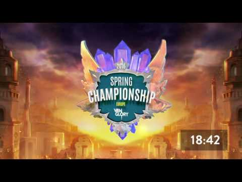 Day 2 Spring Live Championships - Europe