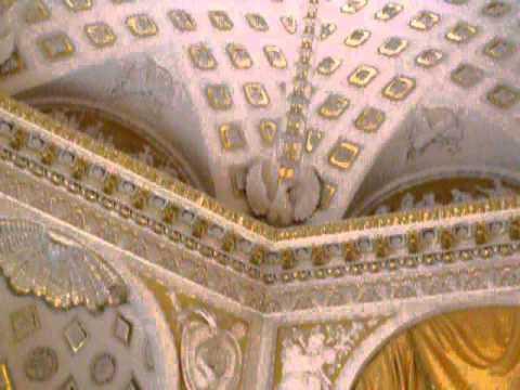 Palace at Pavlovsk. Small of throne-room.(Павловск. Малый тронный зал).