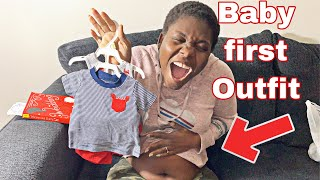 OUR BABY FIRST OUTFIT  BABY NAMES?!  PREGNANT LESBIAN COUPLE