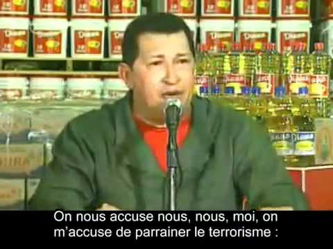 "Hugo Chavez  sur Israel: ""Soit maudit"""