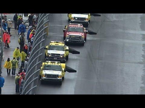 NASCAR Has A Window, Track Drying Has Begun