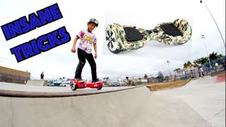 INSANE 7 YEAR OLD HOVERBOARD TRICKS AT THE SKATEPARK!(Song : Hurley Mower - Drank no doubt! Give the video a if you ⚠   Follow my Social Medias!⚠   ▷️INSTAGRAM! https://instagram.com/tannerfox/ ..., 2015-10-22T04:48:33.000Z)