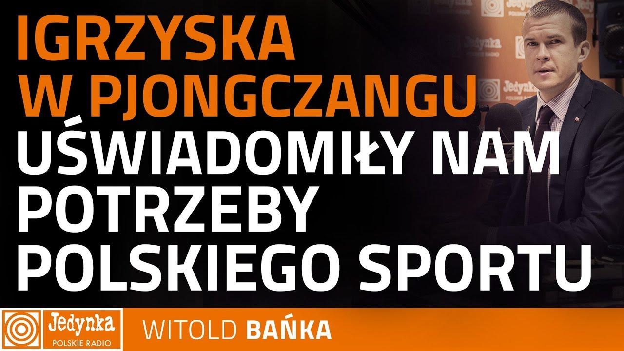 Witold Bańka: dorobek medalowy w Pjongczangu to odzwierciedlenie stanu sportów zimowych w Polsce