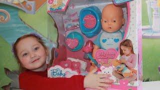 Baby Amore Pipi Popo Interactive Doll Бебі Аморе інтерактивна Лялька розпакування та огляд