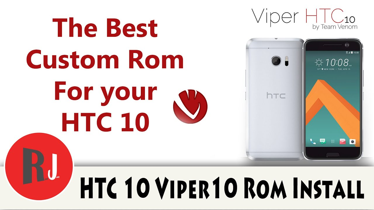 The Best Rom for your HTC device Viper10 rom on the HTC 10 Tutorial