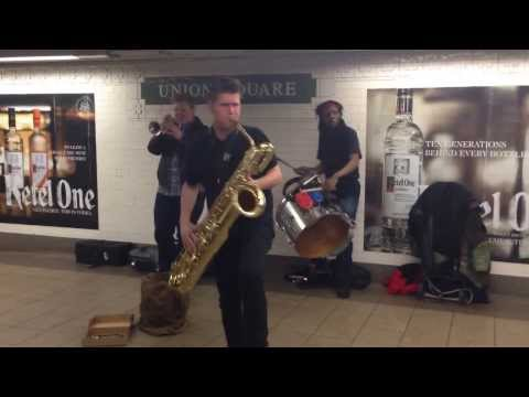 TOO MANY ZOOZ rocks Union Square.
