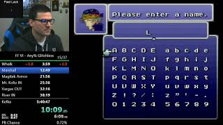 (5:37:15) Final Fantasy VI any% glitchless
