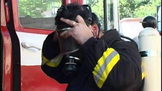 Замечательный пожарный спортсмен