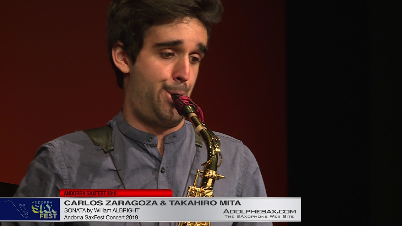 Andorra Saxfest 2019   Carlos Zaragoza   Sonate William Abrght