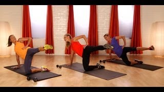 10-Minute Pilates Butt Workout | Celebrity Fitness | Class FitSugar