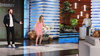 The actors showed off their super dance skills in Ellen's fun new game! Find out more about Shutterfly here: https://www.shutterfly.com/