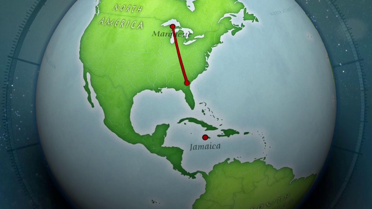 Jamaica Map - YouTube