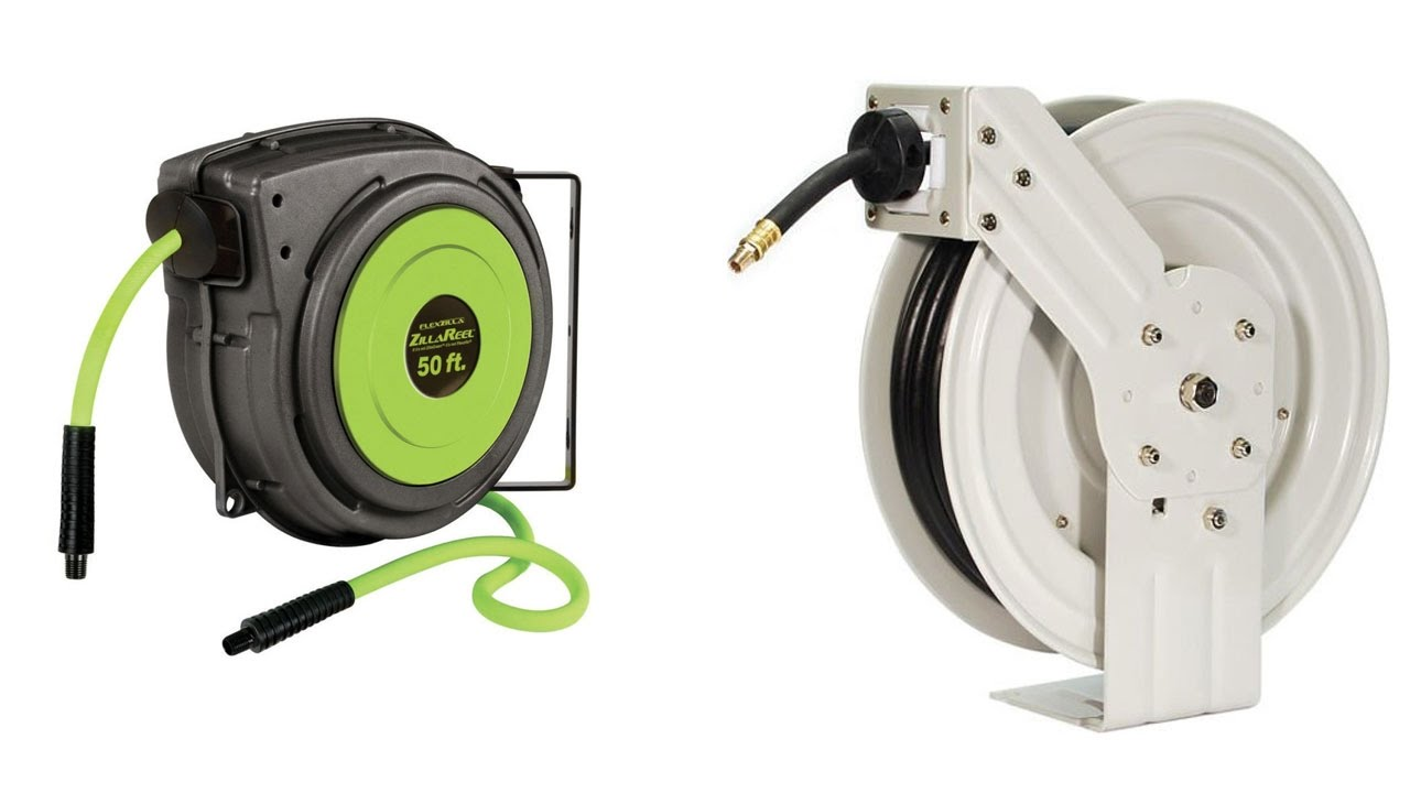 Top 5 Best Hose Reels Reviews 2016, Best Retractable Garden Hose Reviews