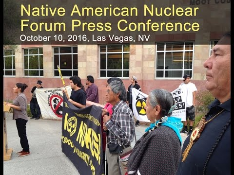 Native American Nuclear Forum Press Conference