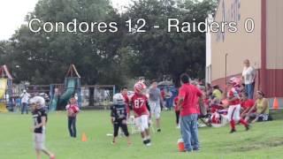 Condores vs Raideres 30 junio 2016