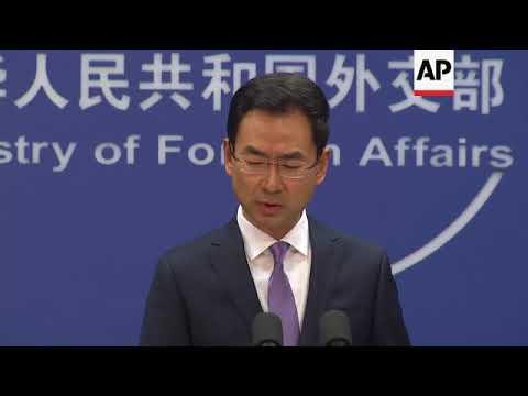 China criticises US, Japan stance on Taiwan