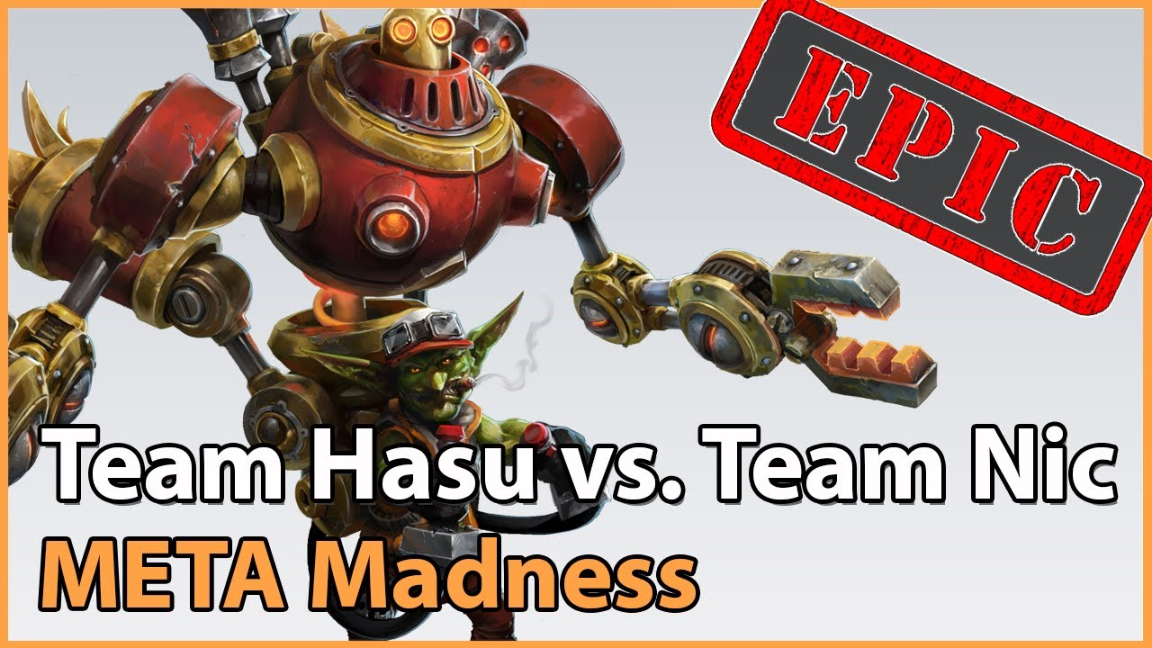 ► Team HasuObs vs. Team Nic - META Madness Playoffs - Heroes of the Storm Esports