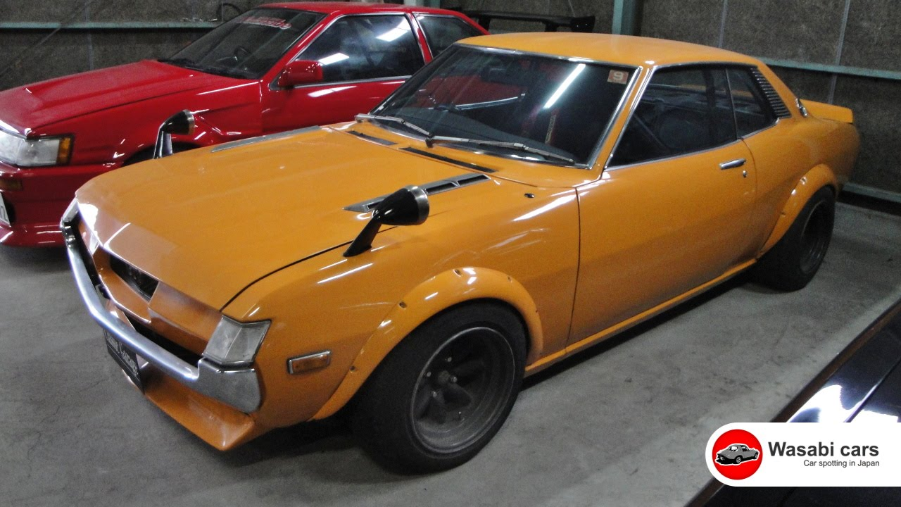 1973 Toyota Celica 1600 Gtv Ta22 Youtube