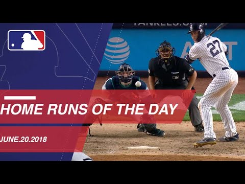 Home Runs of the Day: 6/20/18