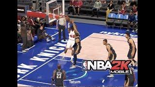 Domination Team 2 (Jordan) Victory! NBA 2K Mobile #30  3704 team power