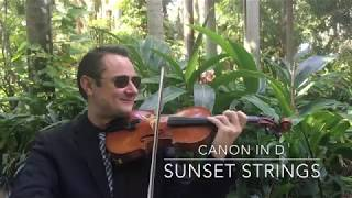 Sunset Strings - Canon in D