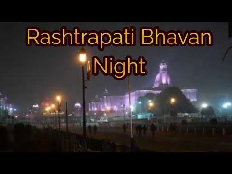 rashtrapati-bhavan-night- -the-president-house-of-india- -rashtrapati-bhavan-delhi- -ram-nath-kovind