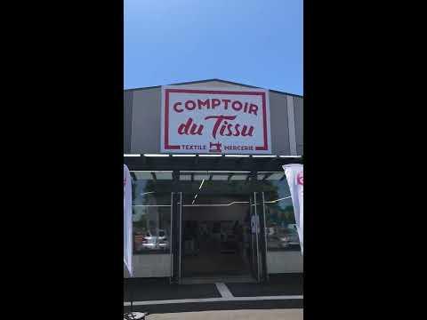 Visite Du Magasin Comptoir Du Tissu A Cadaujac Youtube