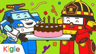 폴리의 생일 축하합니다! | 색칠하기 | 로보카폴리 스…