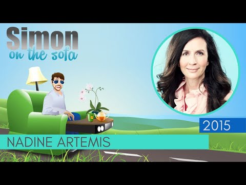 Nadine Artemis | true-sense visionary / Health and Wellness | Simon on the Sofa hangout