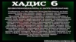 6. Дозволенное (халяль) и запретное (харам). Сорок Хадисов Ан-Навави.