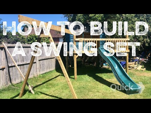 How to build the best tree house swing set in the world – part 1