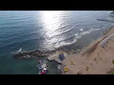 TOP Cyprus Beaches: Faros Beach and Paphos Lighthouse - 4K