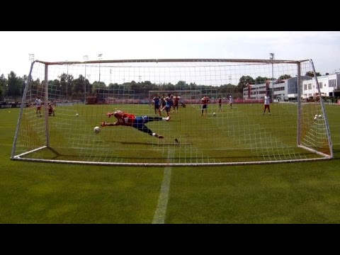 Penalty Shoot-out FC Bayern Munich with Götze Martinez Dante Weiser   Pep Guardiola