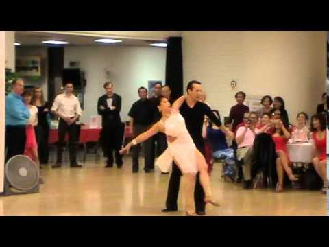 Rumba Performance by Jennifer Chan and Igor Dogoter 2-21-2015