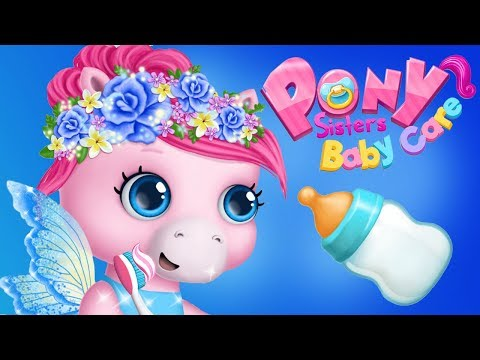 Fun Animal Horse Care - Play & Learn Baby Pony Sisters Dress Up, Feed, Care Games Apps For Kids