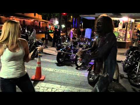 Austin 6th Street night life and the Republic of Texas Bikers Rally June 2015