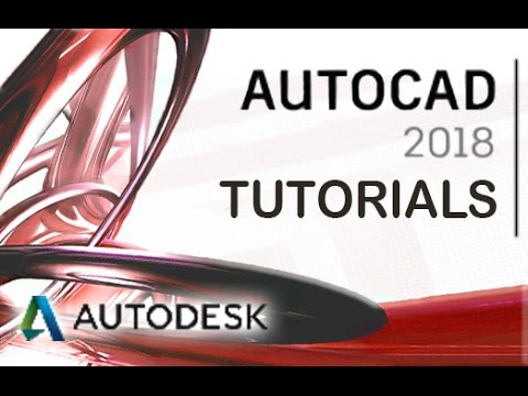 AutoCAD 2018 - Create 3D Projects and Design Tutorial  [COMPLETE]*
