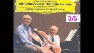 brahms cello sonata no 2 in f op 99 3 5 adagio affetuosto part 2 allegro passionato part 1