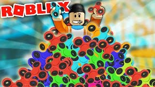 BUILDING A FIDGET SPINNER FACTORY IN ROBLOX! | Roblox Fidget Spinner Tycoon Gameplay