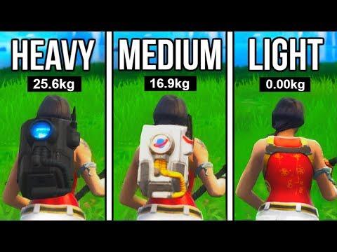 BACKPACKS In Fortnite Make You RUN SLOWER!!! (RIP FORTNITE!) Fortnite Mythbusters