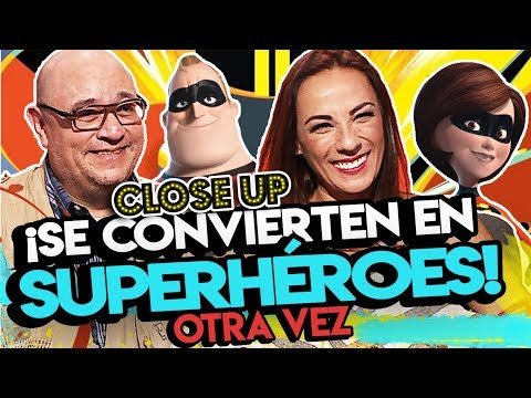 El doblaje de Los Increíbles 2 está de regreso: Víctor Trujillo y Consuelo Duval