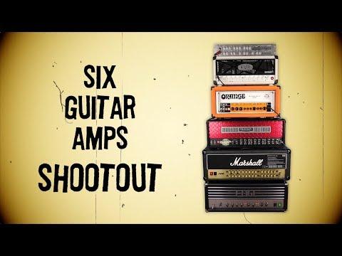 Six High Gain Guitar Amps Shootout