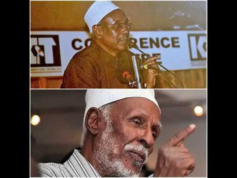 Doodii BBCdu u qabatay Xirsi Bulxan Faarax iyo Maxamed Ibraahim Warsame (Hadraawi).