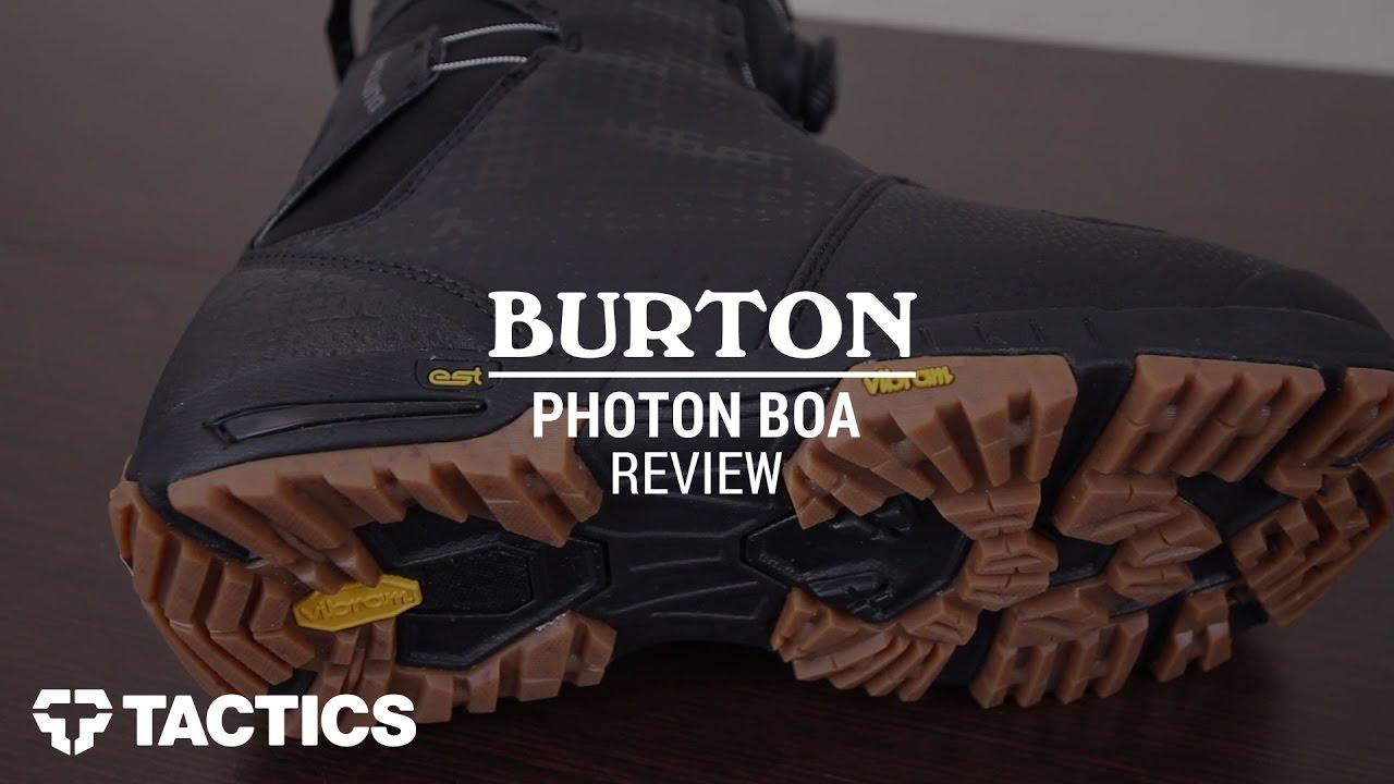 Burton Photon Boa 2017 Snowboard Review - Tactics.com - YouTube 23af9d2b3ea