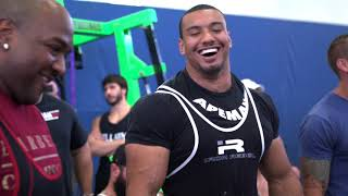 Larry Wheels 2275lbs No Wraps ATWR Total. Full Meet Video.