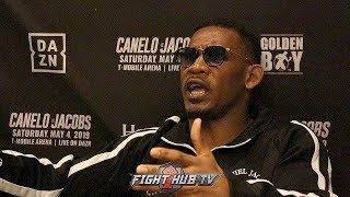 DANIEL JACOBS SAYS HE'LL PUT ON 15 LBS AFTER CANELO WEIGH INS; WILL WEIGH 175 ON FIGHT NIGHT