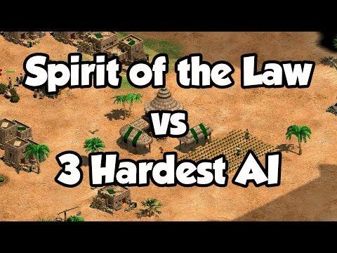 Spirit of the Law vs 3 Hardest AI