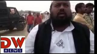 BJP supporter Maulana Suhaib Qasmi from Bijnor, UP